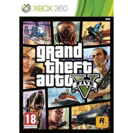 Coperta GRAND THEFT AUTO 5 - XBOX360