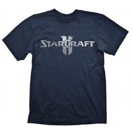 STARCRAFT 2 STARCRAFT LOGO SILVER TSHIRT S