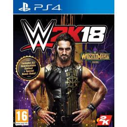 Coperta WWE 2K18 WRESTLEMANIA EDITION - PS4