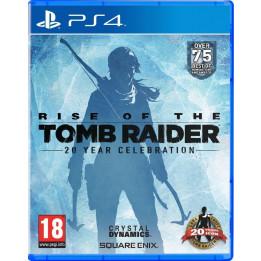 Coperta RISE OF THE TOMB RAIDER 20 YEAR CELEBRATION - PS4