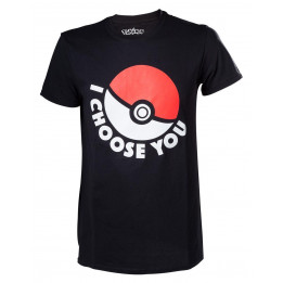 Coperta POKEMON I CHOOSE YOU TSHIRT L