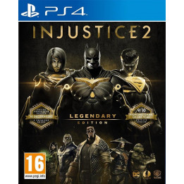 Coperta INJUSTICE 2 LEGENDARY EDITION - PS4