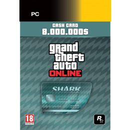 Coperta GRAND THEFT AUTO V MEGALODON CARD (SOCIAL CLUB CODE)