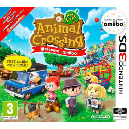 Coperta ANIMAL CROSSING NEW LEAF WELCOME AMIIBO - 3DS