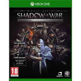 Coperta MIDDLE EARTH SHADOW OF WAR SILVER EDITION - XBOX ONE