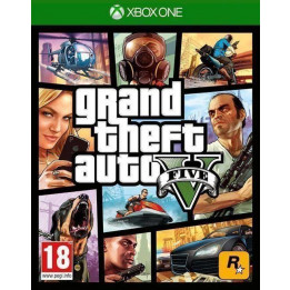 Coperta GRAND THEFT AUTO 5 - XBOX ONE
