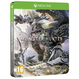 Coperta MONSTER HUNTER WORLD STEELBOOK EDITION - XBOX ONE