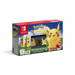 Coperta NINTENDO SWITCH CONSOLE & POKEMON LETS GO PIKACHU BUNDLE - GDG