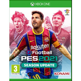 Coperta PRO EVOLUTION SOCCER 2021 (SEASON UPDATE) - XBOX ONE