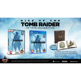 Coperta RISE OF THE TOMB RAIDER 20 YEAR CELEBRATION ARTBOOK EDITION - PS4