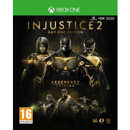 Coperta INJUSTICE 2 LEGENDARY STEELBOOK EDITION - XBOX ONE