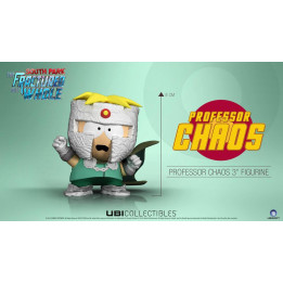 "Coperta SOUTH PARK THE FRACTURED BUT WHOLE PROF CHAOS 3"" FIGURINE"