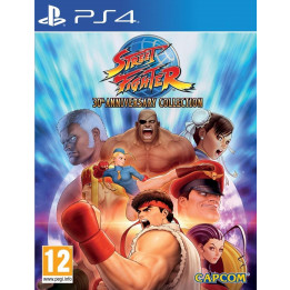 Coperta STREET FIGHTER 30 ANNIVERSARY COLLECTION - PS4