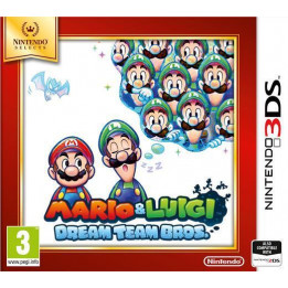 Coperta MARIO & LUIGI DREAMTEAM BROS SELECTS - 3DS