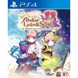 Coperta ATELIER LYDIE & SUELLE ALCHEMISTS AND THE MYSTERIOUS PAINTINGS - PS4