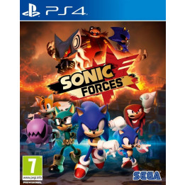 Coperta SONIC FORCES - PS4