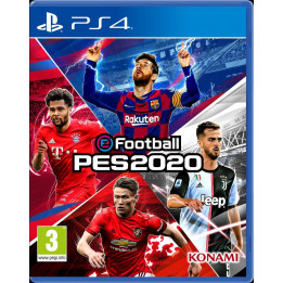 Coperta PRO EVOLUTION SOCCER 2020 - PS4