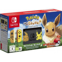 Coperta NINTENDO SWITCH CONSOLE & POKEMON LETS GO EEVEE BUNDLE - GDG