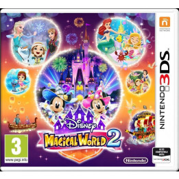 Coperta DISNEY MAGICAL WORLD 2 - 3DS