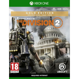 Coperta THE DIVISION 2 GOLD EDITION - XBOX ONE