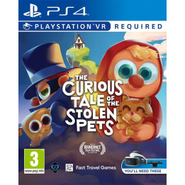 Coperta THE CURIOUS TALE OF THE STOLEN PETS (VR) - PS4
