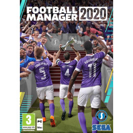 Coperta FOOTBALL MANAGER 2020 - PC