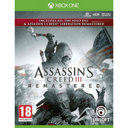 Coperta ASSASSINS CREED 3 & ASSASSINS CREED LIBERATION REMASTER - XBOX ONE