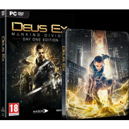 Coperta DEUS EX MANKIND DIVIDED STEELBOOK EDITION - PC