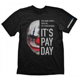 Coperta PAYDAY 2 CHAINS MASK TSHIRT XL