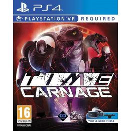 Coperta TIME CARNAGE (VR) - PS4