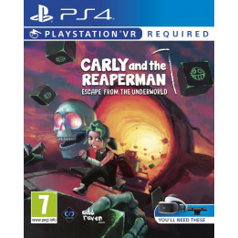 Coperta CARLY AND THE REAPER MAN (VR) - PS4