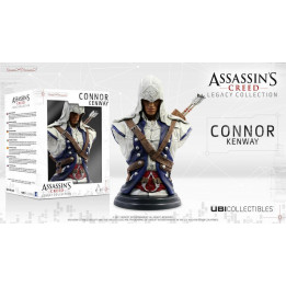 ASSASSINS CREED 3 BUST CONNOR FIGURINE