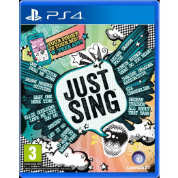 Coperta JUST SING - PS4