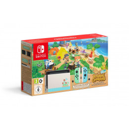 Coperta NINTENDO SWITCH CONSOLE & ANIMAL CROSSING NEW HORIZON BUNDLE - GDG