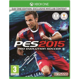 Coperta PRO EVOLUTION SOCCER 2015 D1 EDITION - XBOX ONE