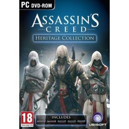 Coperta ASSASSINS CREED HERITAGE COLLECTION - PC