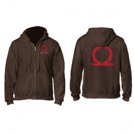 Coperta GOD OF WAR SERPENT LOGO ZIPPER HOODIE XXL