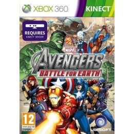 Coperta MARVEL THE AVENGERS BATTLE FOR EARTH - XBOX360