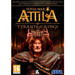 Coperta TOTAL WAR ATTILA TYRANTS AND KINGS EDITION - PC