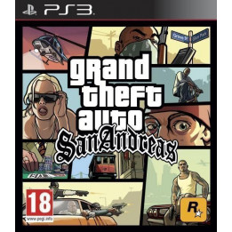 Coperta GRAND THEFT AUTO SAN ANDREAS - PS3