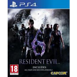 Coperta RESIDENT EVIL 6 - PS4