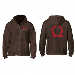 Coperta GOD OF WAR SERPENT LOGO ZIPPER HOODIE M