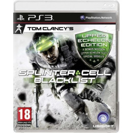 Coperta SPLINTER CELL BLACKLIST UPPER ECHELON EDITION - PS3