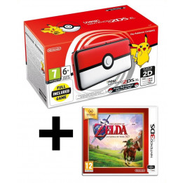 Coperta NINTENDO NEW 2DS XL CONSOLE POKEBALL EDITION + ZELDA OCARINA - GDG