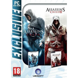 Coperta ASSASSINS CREED & ASSASSINS CREED 2 PACK EXCLUSIVE - PC
