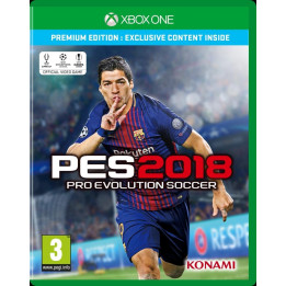 Coperta PRO EVOLUTION SOCCER 2018 PREMIUM EDITION - XBOX ONE