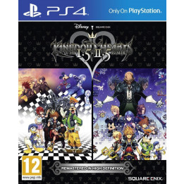 Coperta KINGDOM HEARTS 1.5 & 2.5 - PS4
