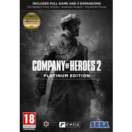 Coperta COMPANY OF HEROES 2 PLATINUM EDITION - PC