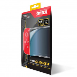 STEELPLAY - SCREEN PROTECTION KIT - 9H TEMPERED GLASS (SWITCH)