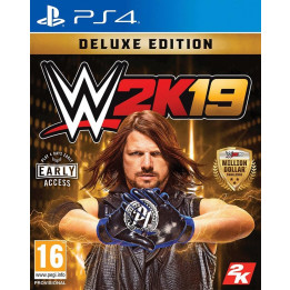 Coperta WWE 2K19 DELUXE EDITION - PS4